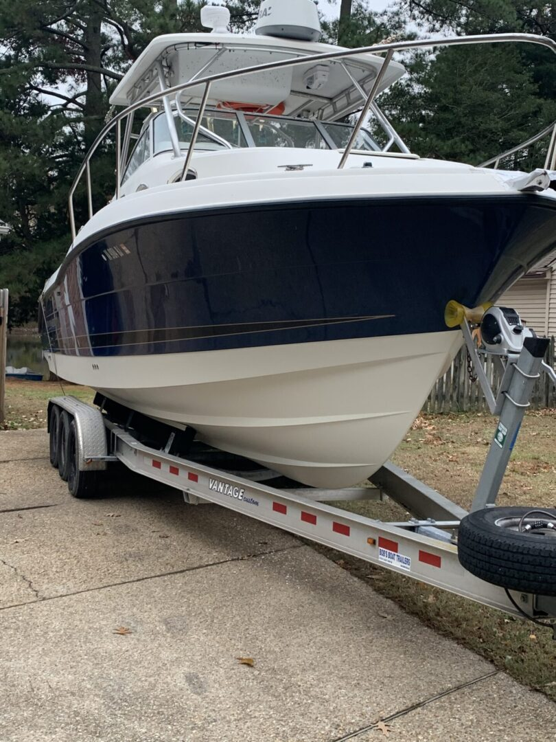 Boat Front STBD trailer