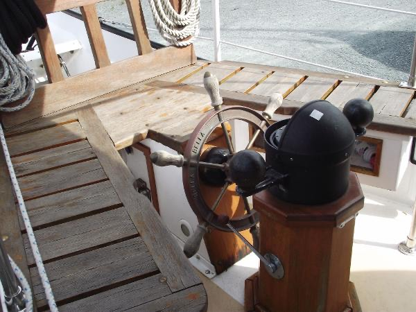 Schooner hope Clasic binicaled compass helm